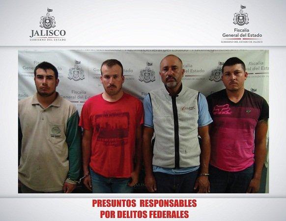 ¡Localiza la Fuerza Única de Jalisco un domicilio que servía de almacén de combustible robado!