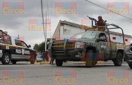 ¡Comando armado se apoderó de las armas de la Comandancia de Policía de Ojocaliente, Zacatecas!