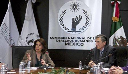 ¡Firman CNDH y PROFECO convenio de colaboración para realizar acciones conjuntas en favor de los derechos humanos y derechos de los consumidores!