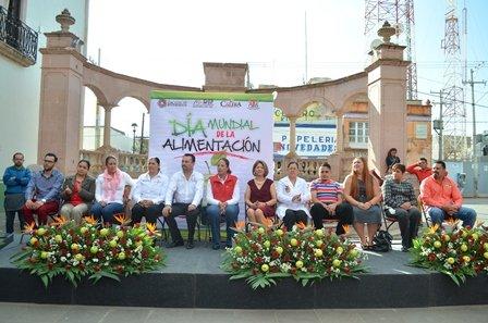 ¡Conmemoran Día Mundial de la Alimentación en Calera!