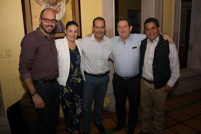¡Diputados locales panistas respaldan proyecto de Martín Orozco para Ags.!