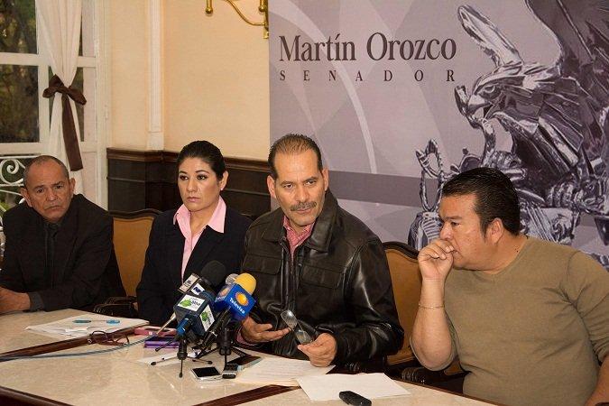 ¡Conforma Martín Orozco frente común para brindar mejores condiciones de vida a personas discapacitadas!