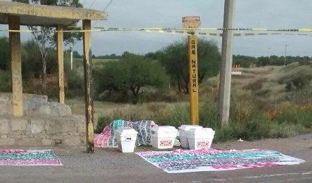 ¡Hallaron 4 cabezas decapitadas en hieleras y con narco-mensajes en Zacatecas!