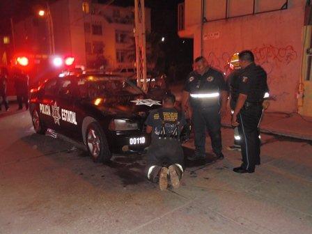 ¡Espectacular operativo policiaco en Aguascalientes!