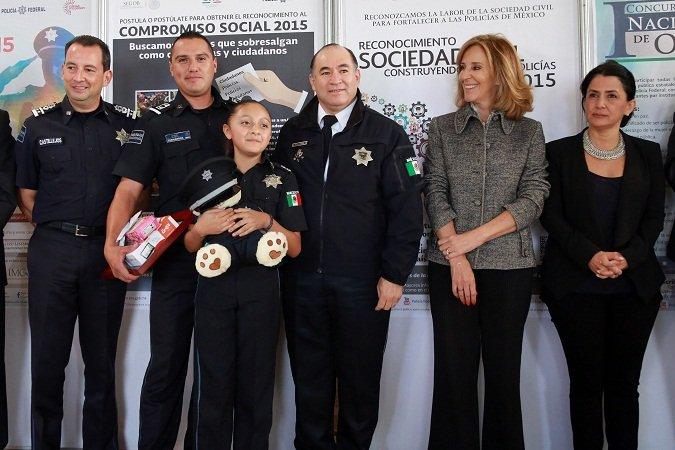 ¡Premia la Policía Federal a niños ganadores del concurso de dignificación de la labor policial!