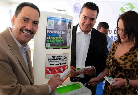 ¡Gobierno Municipal realiza acciones para la correcta disposición de medicamentos caducos!
