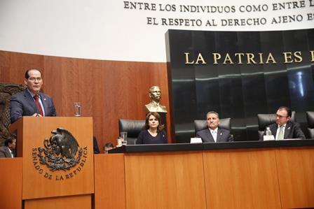 ¡Designan a Martín Orozco vocero del posicionamiento del GPPAN en Senado en el análisis del paquete económico 2016!