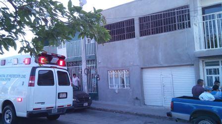 ¡Joven intentó suicidarse ahorcándose en su casa en Aguascalientes pero fue rescatado!