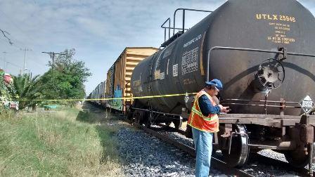 """¡""""El Huesos"""" fue atropellado por el tren en Aguascalientes y logró sobrevivir!"""
