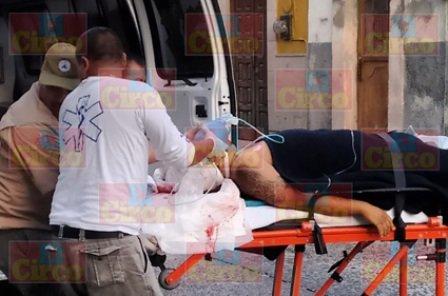 ¡Murió un motociclista tras fuerte accidente en Lagos de Moreno!