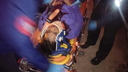 ¡Mujer profesionista falleció tras la volcadura de su auto en Aguascalientes!
