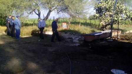 ¡Sexagenario alcohólico murió ahogado en una pileta en un rancho en Aguascalientes!