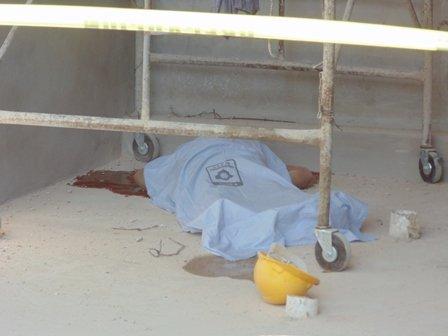 ¡Albañil se mató tras caer de un andamio en un edificio en construcción en Aguascalientes!
