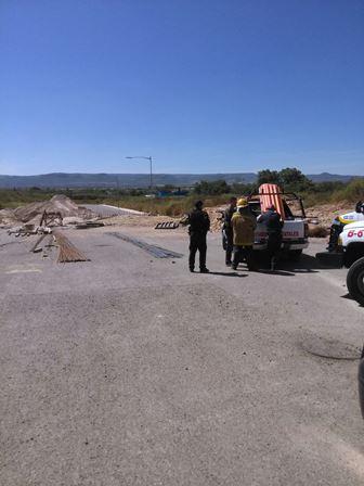¡Trabajador murió sepultado tras un derrumbe en el Parque Industrial de San Francisco de los Romo!