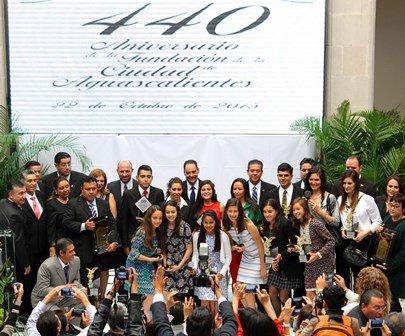 ¡Enaltece el alcalde Juan Antonio Martín del Campo la herencia de los fundadores de Aguascalientes!