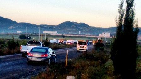 ¡1 muerto y 1 lesionado dejó el choque de 2 camiones de carga dentro de una mina en Fresnillo!