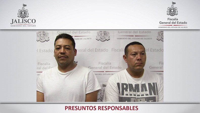 ¡Consigna la Fiscalía de Jalisco a dos policías acusados de robar mil pesos a detenidos!
