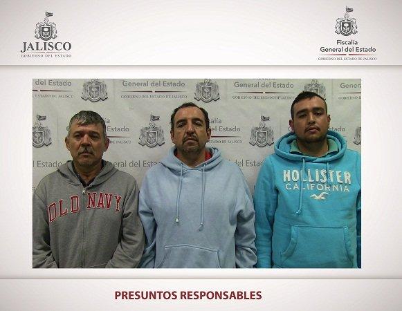 ¡Capturan a 3 sujetos que asesinaron a balazos a un hombre en Etzatlán, Jal.!