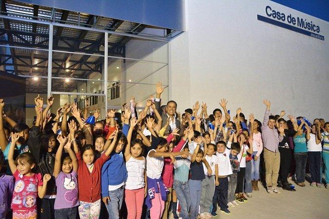 ¡Inaugura Antonio Arámbula la Casa de la Música en Jesús María!