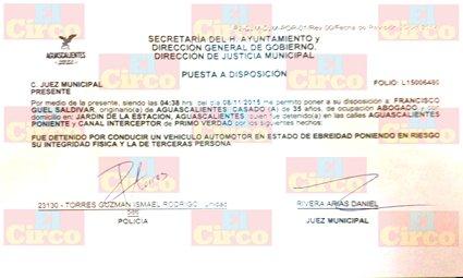 ¡Detienen al líder del PRI, Paco Guel, por conducir en estado de ebriedad!