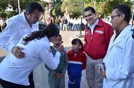 ¡Inicia Segunda Semana de Salud Bucal en Calera!