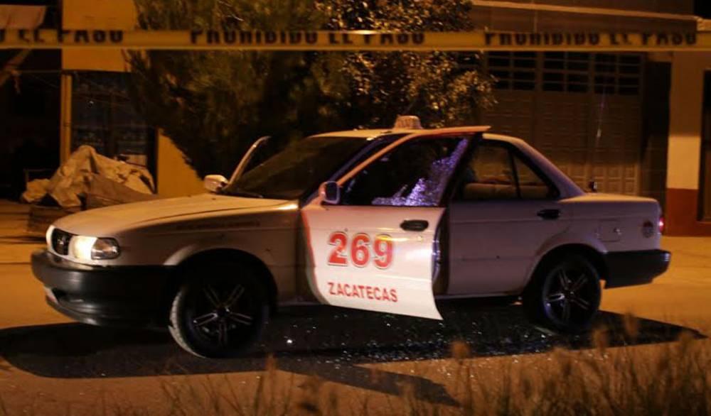 ¡Identifican al taxista y a la pasajera ejecutados por un comando armado en Guadalupe!