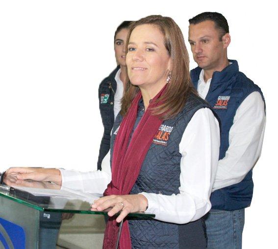 ¡El 6 de diciembre Aguascalientes va a demostrar que la ciudadanía es la que manda: Margarita Zavala!