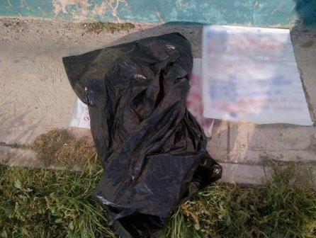 ¡Hallaron restos humanos en una bolsa y unos narco-mensajes en Ojocaliente, Zacatecas!
