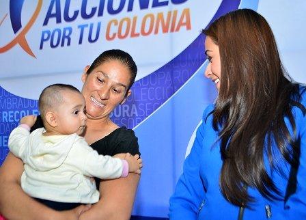 ¡Es necesario fortalecer las políticas públicas en favor de las mujeres jefas de familia: Tere Jiménez!