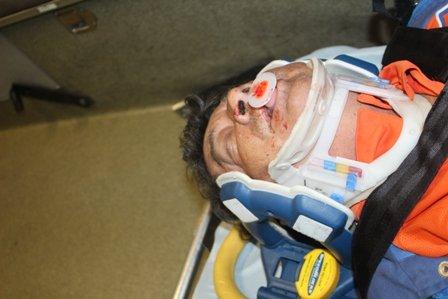 ¡Grave un ebrio tras aparatosa caída de la azotea de su casa en Aguascalientes!
