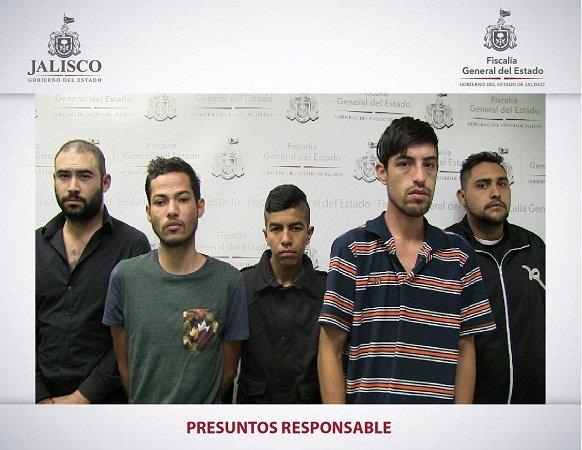 ¡Consignan a 5 sujetos por el robo a un camión de cervecería en Guadalajara!