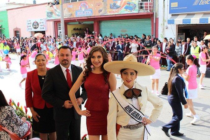 ¡Conmemoró el municipio de Calera el aniversario por el Día de la Revolución Mexicana!