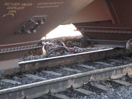 ¡Sexagenario fue atropellado y muerto por el tren en Aguascalientes!