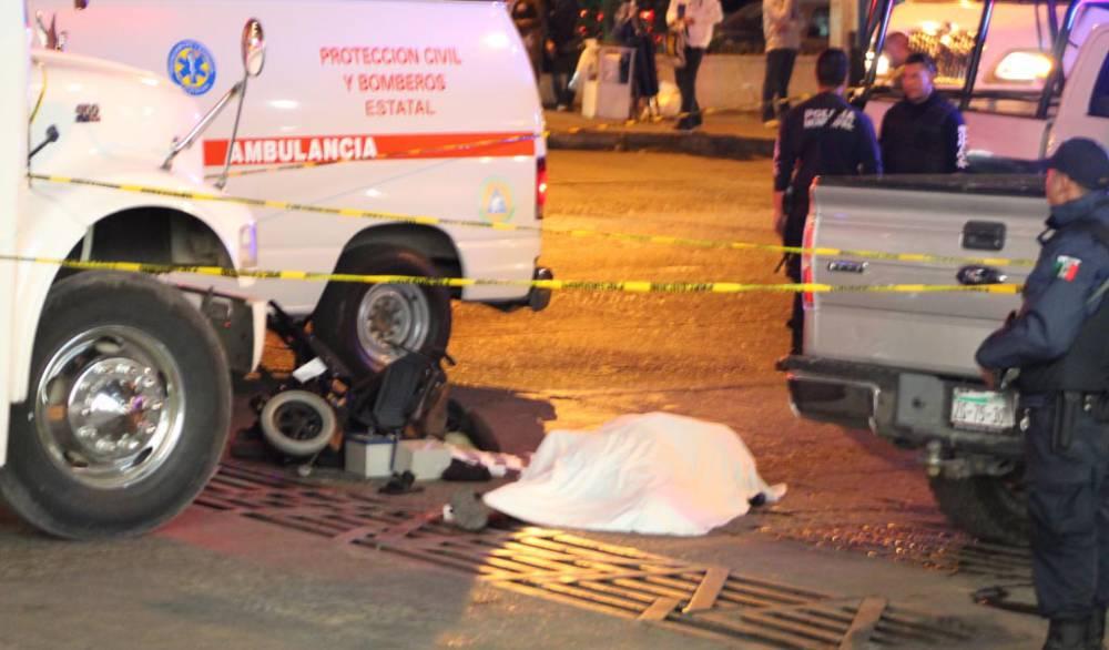 ¡Sexagenario muere tras ser arrollado por un camión urbano en Zacatecas!