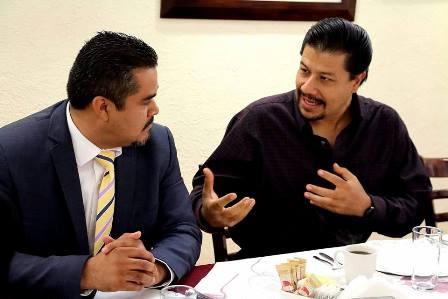 ¡Necesario brindar información oportuna a trabajadores de Aguascalientes en EU: Marco Arturo Delgado!