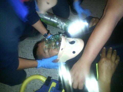 ¡Par de malvivientes agreden a Policía Vial y un reportero gráfico en Aguascalientes!