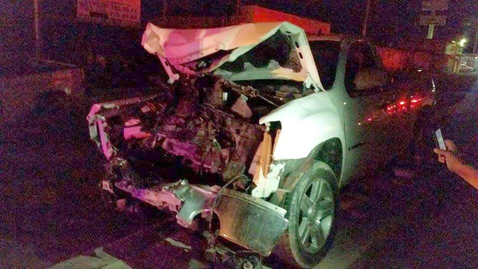¡No provocó, sino que fue víctima de aparatoso accidente!
