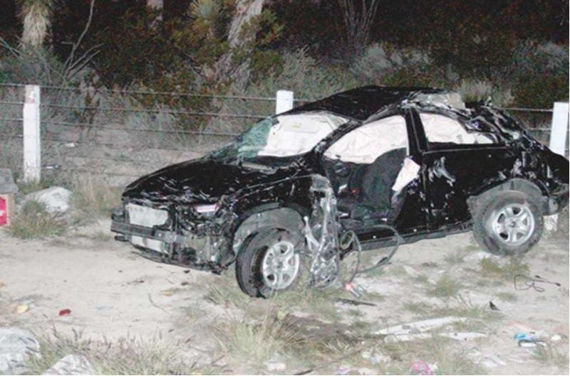 ¡Saldo de un muerto y dos heridos dejó una volcadura en Zacatecas!
