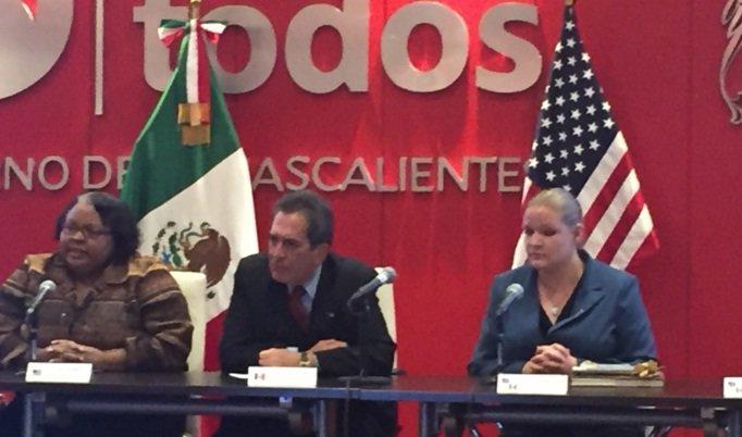 ¡Destaca cónsul de Estados Unidos el desarrollo de Aguascalientes!