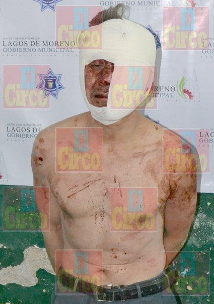 ¡Rescatan de ser Linchado al Homicida de la Niña Encontrada en una Maleta en Lagos de Moreno!