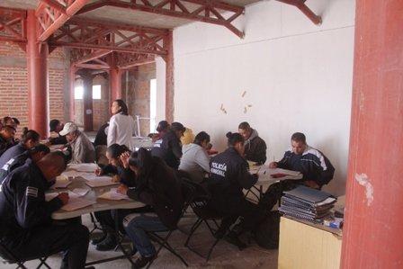 ¡Aplican en Lagos de Moreno examen antidoping sorpresa a 54 policías municipales!