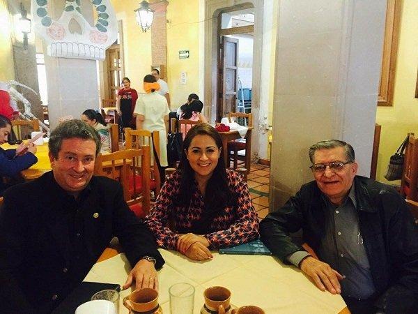 ¡Respalda Ricardo Magdaleno candidatura de Tere Jiménez para la alcaldía de Aguascalientes!