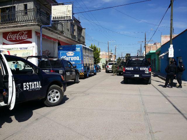 ¡Operativo de seguridad en la frontera entre Aguascalientes y Zacatecas arrojó 3 detenidos y el decomiso de droga!