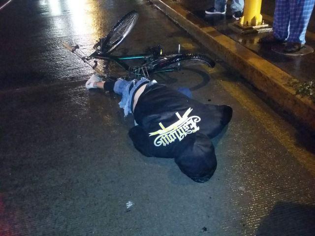 ¡Joven murió arrollado por un automóvil en Aguascalientes!