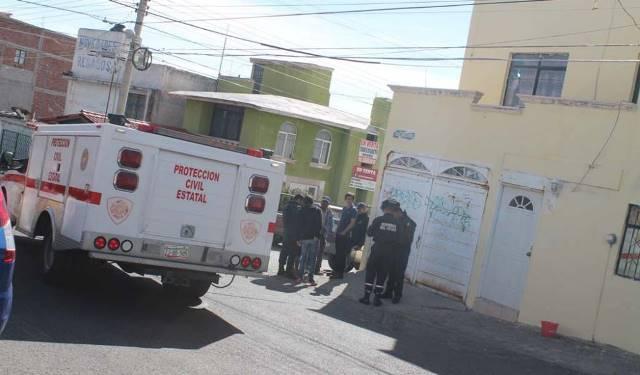 ¡Joven pintor se salvó de morir electrocutado en Zacatecas!