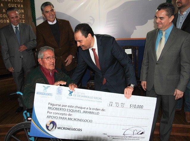 ¡Impulsa Gobierno Municipal a 58 nuevas microempresas!