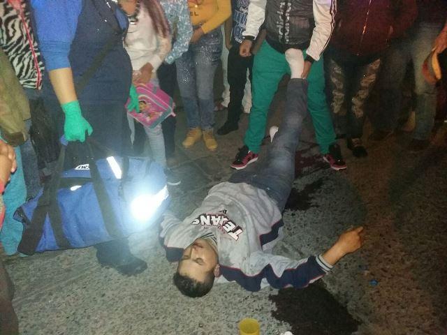 ¡Apuñalaron a un joven en plena Navidad en Aguascalientes!