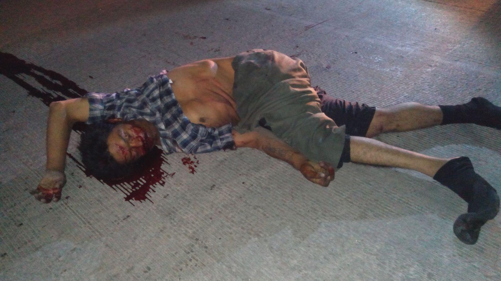 ¡Ebrio peatón murió atropellado por una camioneta en Aguascalientes!
