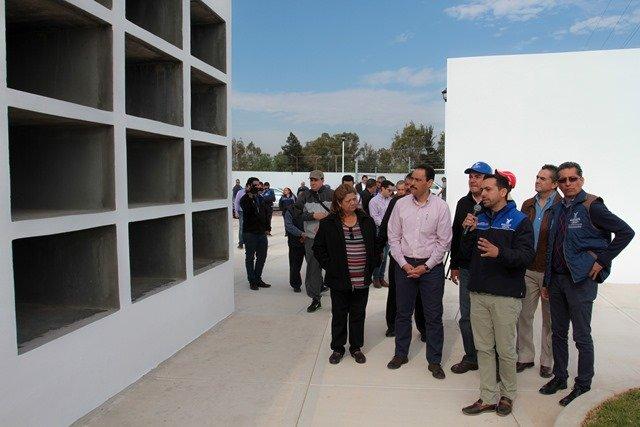 ¡Entregó el alcalde Juan Antonio Martín del Campo nuevo panteón municipal al sur de la ciudad!