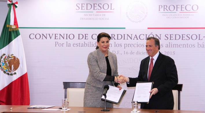 ¡PROFECO y SEDESOL fortalecen acciones en la lucha contra la pobreza!
